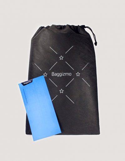 Baggizmo bag gift bag and card