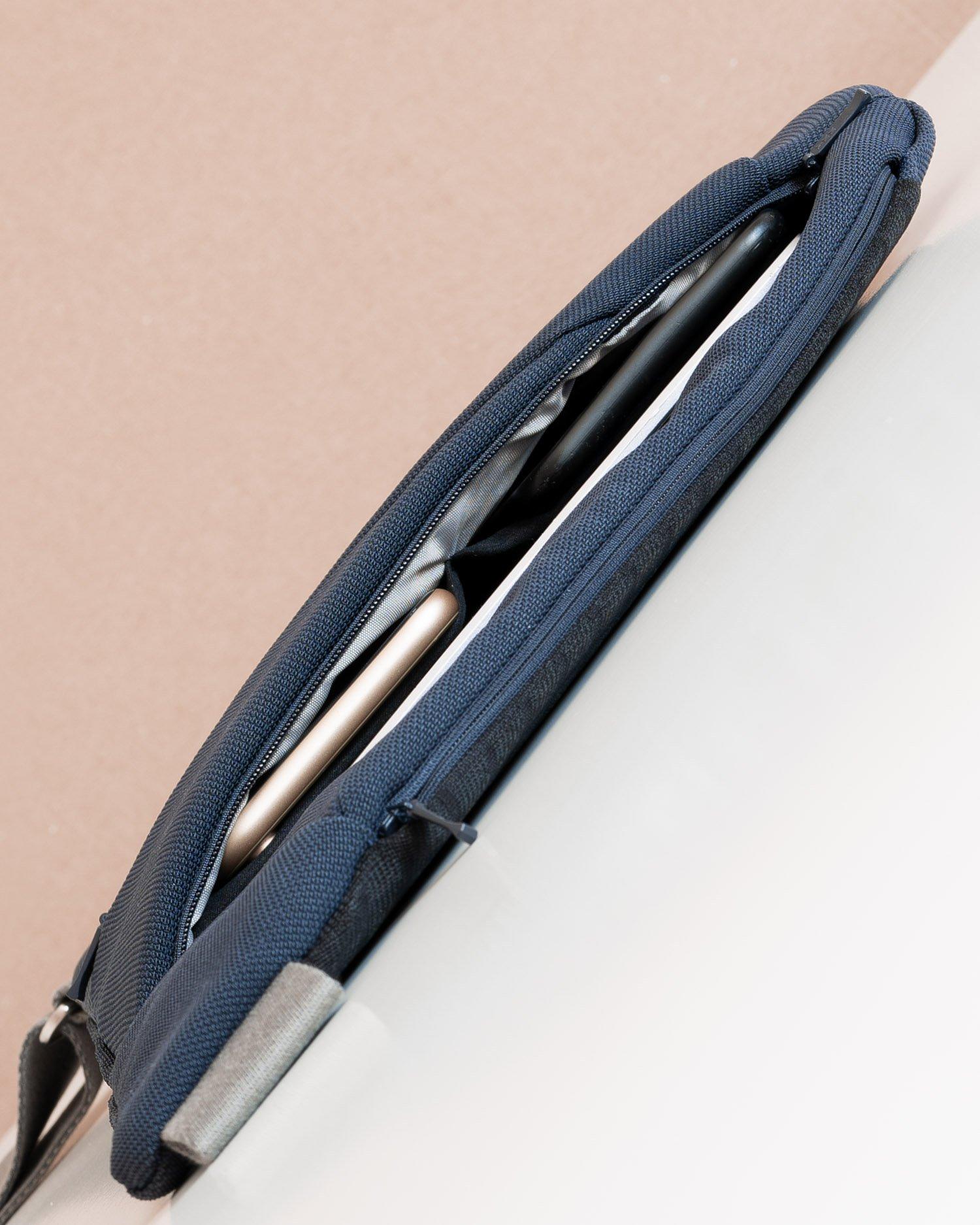 Baggizmo textile crossbody bag slim style, gadget bag