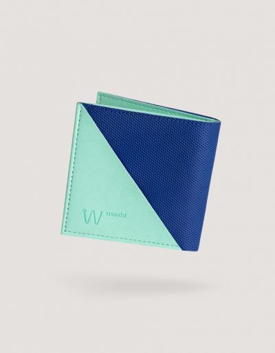 Baggizmo Wiseward Essential RFID protected wallet in true blue color