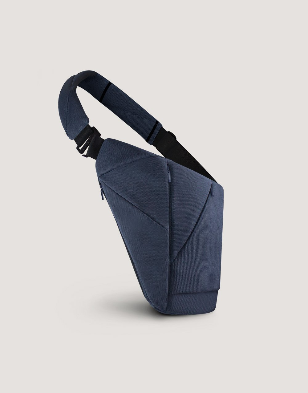 Blue textile crossbody bag by Baggizmo