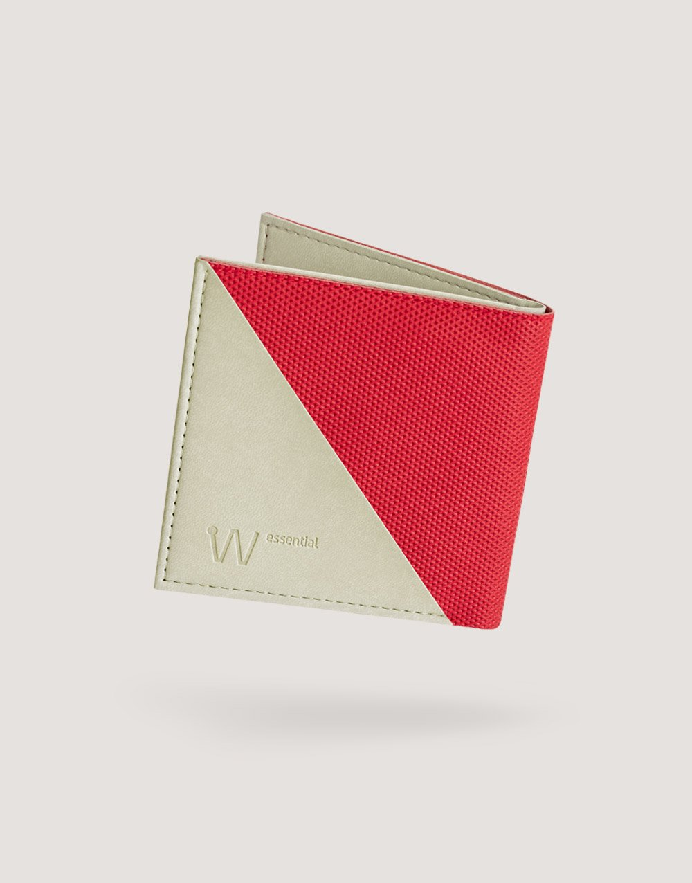 Baggizmo Wiseward Essential RFID protected wallet in cardinal red color
