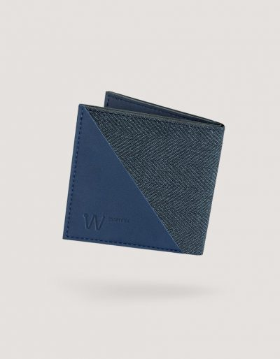 Baggizmo Wiseward Essential RFID protected wallet in noble blue color