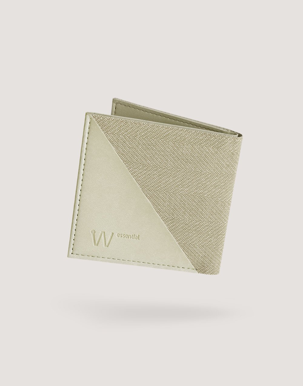 Baggizmo Wiseward Essential RFID protected wallet in sandy beige color