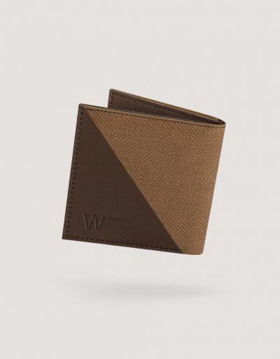 Baggizmo Wiseward Essential RFID protected wallet in vintage brown color