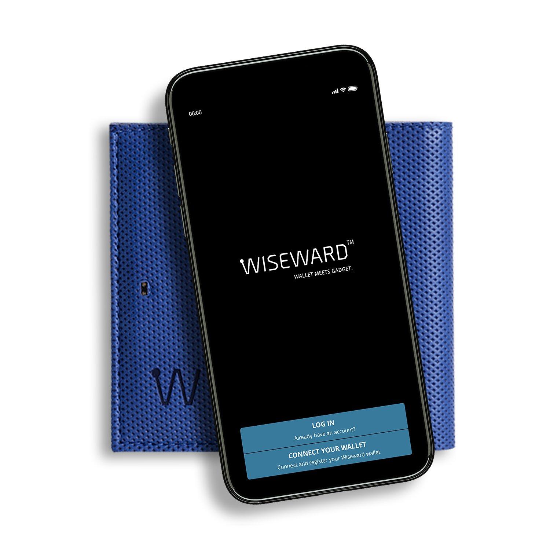 Smart phone Baggizmo app for smart wallet