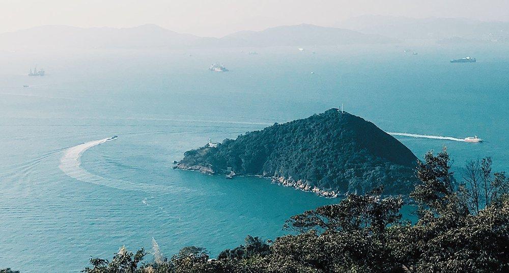 Lamma Island in Hong Kong