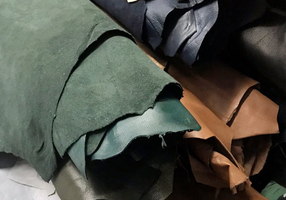 High quality genuine italian nappa leather