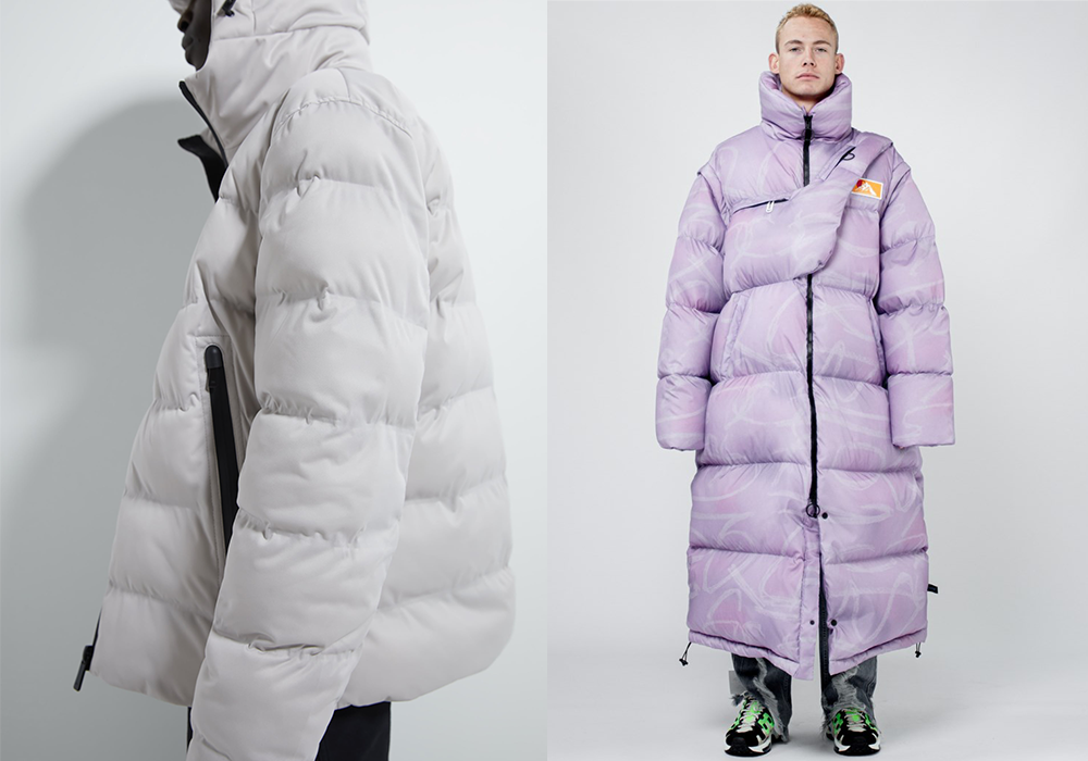 Oversized puffers trend for men for Fall 2019